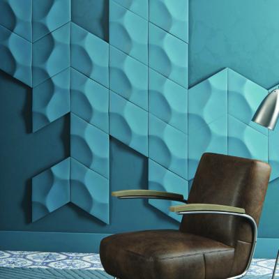 Rautenförmige Wandverkleidung von Noel&Marquet