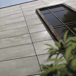 Fassadenansicht eines modernen Hauses