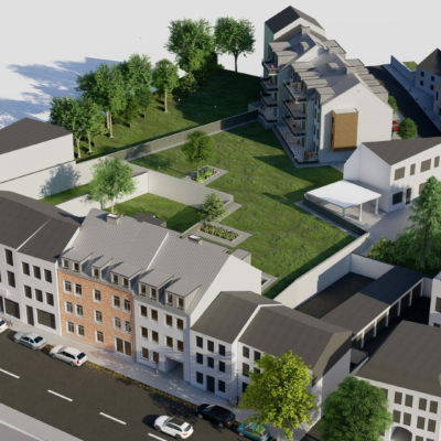 Simulation eines Wohngebietes