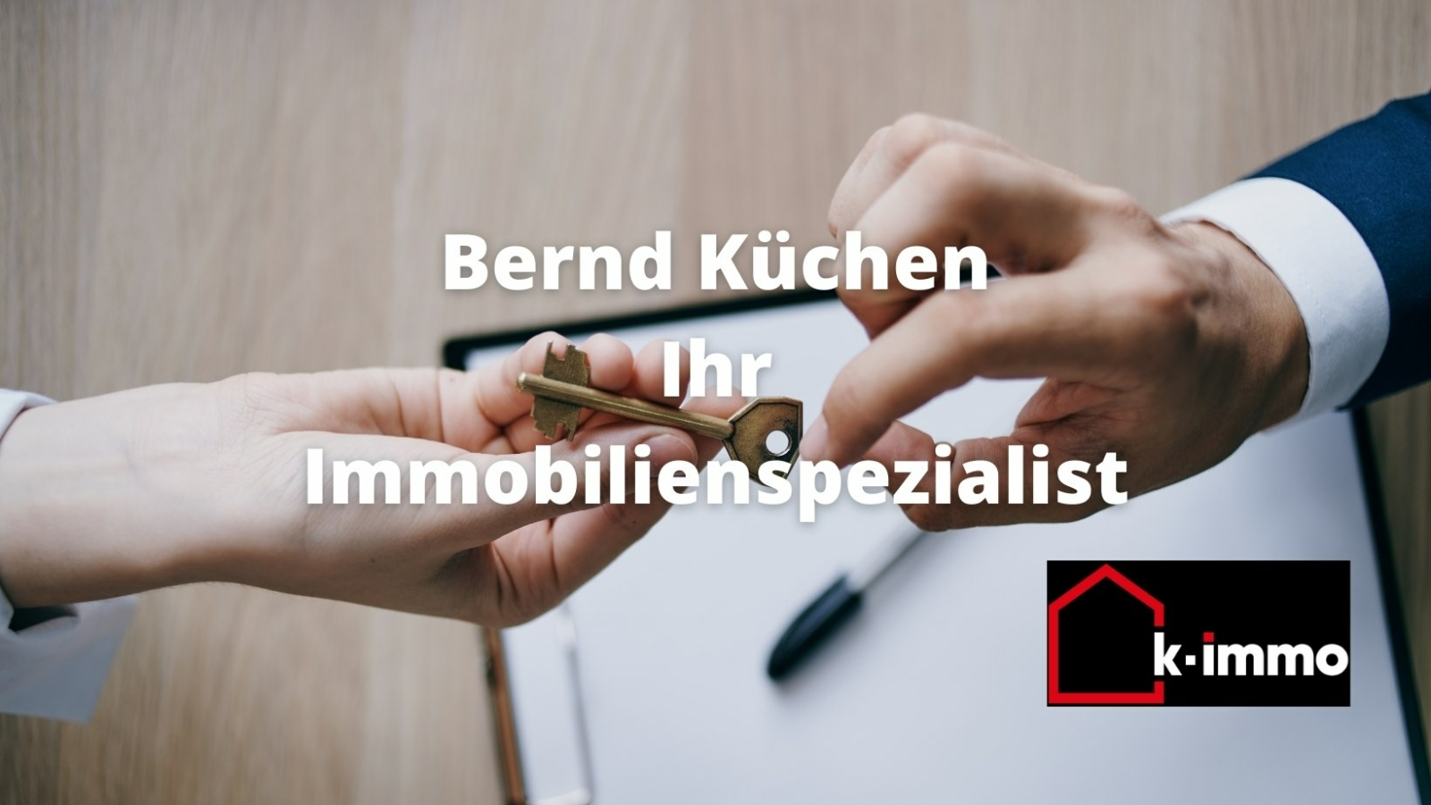 Symbolbild Schlüsselübergabe K-Immo